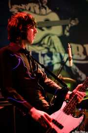 Koldo Soret, bajista de Chico Boom, Freakland Festival, Ponferrada. 2007