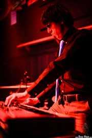 Álvaro Turrión, teclista de Chico Boom, Freakland Festival, Ponferrada. 2007