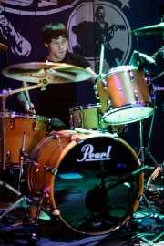 Andoni Etxebeste, baterista de Chico Boom, Freakland Festival, Ponferrada. 2007
