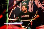Cosme Parada, baterista de The Phantom Keys (Freakland Festival, Ponferrada, 2007)