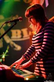 Alexa, teclista de The Phantom Keys (Freakland Festival, Ponferrada, 2007)