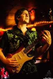 Edu Manazas (aka BigHands), cantante y guitarrista de Edu Manazas & The Whiskey Tren, Savoy Drinks & Music, Gijón. 2007