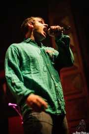 Iñigo Goikoetxea, cantante de Aterkings, Kafe Antzokia. 2007