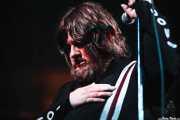 Ebbot Lundberg, cantante de The Soundtrack of Our Lives (Santana 27, Bilbao, 2007)