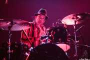 Fredrik Sandsten, baterista de The Soundtrack of Our Lives (Santana 27, Bilbao, 2007)