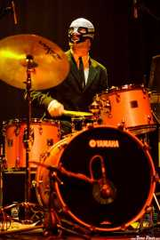 "Jason ""Teen Beat"" Smay, baterista de Los Straitjackets & Kaiser George & The Pontani Sisters, Kafe Antzokia, Bilbao. 2007"