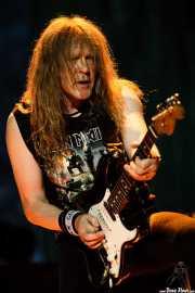 Janick Gers, guitarrista de Iron Maiden, Bilbao BBK Live, 2007