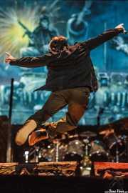 Bruce Dickinson, cantante de Iron Maiden, Bilbao BBK Live, 2007