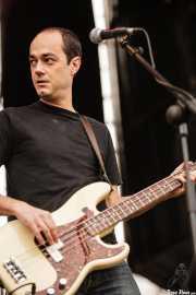 Luis García, bajista de Los Ronaldos (Bilbao BBK Live, Bilbao, 2007)