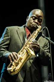 Maceo Parker, cantante, saxofonista y flautista, Bilbao BBK Live, Bilbao. 2007