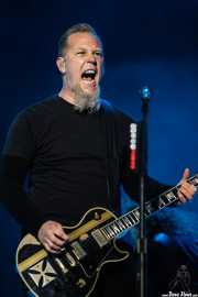 James Hetfield, cantante y guitarrista de Metallica, Bilbao BBK Live, 2007