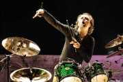 Lars Ulrich, baterista de Metallica, Bilbao BBK Live, 2007