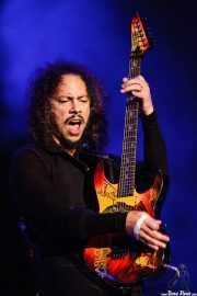 Kirk Hammett, guitarrista de Metallica, Bilbao BBK Live, 2007