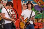 Bajista y guitarrista de The Detroit Cobras (Siren Festival, Nueva York, 2007)