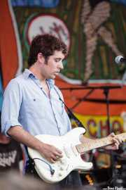 Ian Saint Pé Brown, guitarrista y cantante de The Black Lips