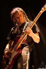 "Alejandro Martín ""Paña"", bajista de RIP KC (Grande Rock Festival, Jaraiz de la Vera, 2007)"