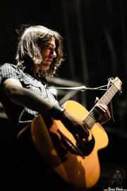 Joe Traveller, guitarrista de Maika Makovski, Grande Rock Festival, Jaraiz de la Vera. 2007