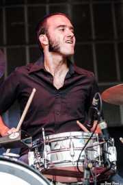 "Roberto Lozano ""Loza"", baterista de Los Coronas, Azkena Rock Festival, Vitoria-Gasteiz. 2007"