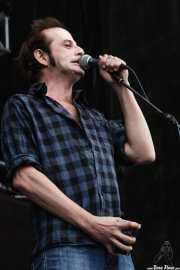 Josele Santiago, cantante y guitarrista, Azkena Rock Festival, Vitoria-Gasteiz. 2007