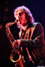 "Matts ""Magic"" Gunnarsson, saxofonista de Diamond Dogs (Azkena Rock Festival, Vitoria-Gasteiz, 2007)"