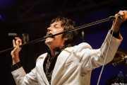 """Sören """"Sulo"""" Karlsson, cantante de Diamond Dogs (Azkena Rock Festival, Vitoria-Gasteiz, 2007)"""