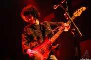 Miguel Guzmán, bajista de Zodiacs, Bilbao. 2007