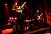 Ignacio Garbayo -cantante y guitarrista-, Pablo Parser -guitarrista-, Lázaro Anasagasti -baterista- y Miguel Guzmán -bajista- de Zodiacs, Bilbao. 2007