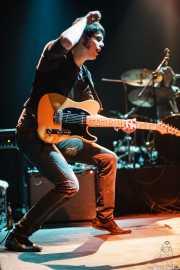 Pablo Parser, guitarrista de Zodiacs, Bilbao. 2007