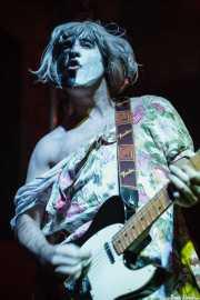 Joseba Irazoki, cantante y guitarrista de On Benito (Sala 360 Aretoa, Arrasate-Mondragón, 2007)