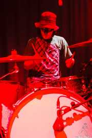 Mikel Lertxundi, baterista de On Benito (Sala 360 Aretoa, Arrasate-Mondragón, 2007)