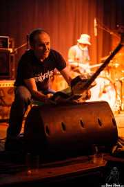 JuanCar Bloody Mary -guitarra invitado- y Mikel Lertxundi -batería- de On Benito (Sala 360 Aretoa, Arrasate-Mondragón, 2007)