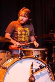 Ekain Elorza, baterista de Petti eta Etxeko Uzta (Sala 360 Aretoa, Arrasate-Mondragón, 2007)