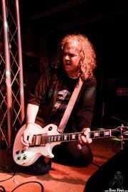Xabi Garre, guitarrista de Roy Loney & Señor No (Sala 360 Aretoa, Arrasate-Mondragón, 2007)