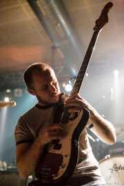 Michael James, guitarrista de Explosions in the Sky (Santana 27, Bilbao, 2007)