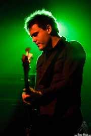 Rob Pope, bajista de Spoon (Santana 27, Bilbao, 2007)