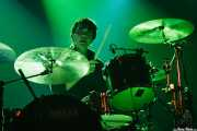 Jim Eno, baterista de Spoon (Santana 27, Bilbao, 2007)
