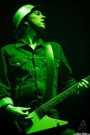 "Pål Bøttger Kjærnes ""Pål Pot Pamparius"", guitarrista de Turbonegro (Bilbao Exhibition Centre (BEC), Barakaldo, 2007)"