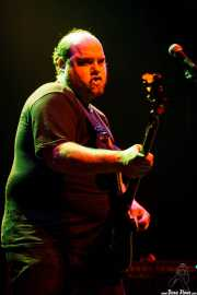 Cavan, cantante y bajista de Los Muelles, Bilbao. 2007