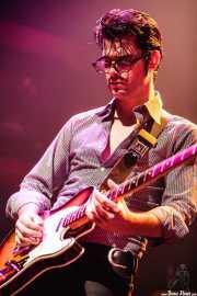 Álvaro Segovia, guitarrista de Atom Rhumba (Kafe Antzokia, Bilbao, 2007)