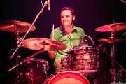 Natxo Beltrán, baterista de Atom Rhumba (Kafe Antzokia, Bilbao, 2007)