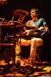 Igor Imaz, baterista de Mamba Beat, Bilborock, Bilbao. 2008