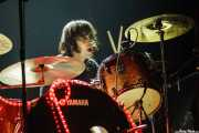 Andoni Ortiz, baterista de The Soulbreaker Company (Kafe Antzokia, Bilbao, 2008)