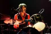 Patxi López Monasterio, baterista de Paniks (Kafe Antzokia, Bilbao, 2008)