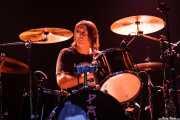 Tony Pola, baterista de Beasts of Bourbon, Kafe Antzokia, Bilbao. 2008