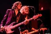 Brian Henry Hooper -bajo- y Charlie Owen -guitarra- de Beasts of Bourbon, Kafe Antzokia, Bilbao. 2008