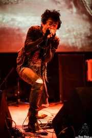 Txarly Usher, cantante de Los carniceros del norte, Bilborock, Bilbao. 2008