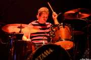 Stu Wilson, baterista de The New Christs, Kafe Antzokia, 2008