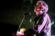 Gerry Roslie, teclista y cantante de The Sonics, Santana 27, Bilbao. 2008