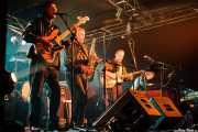 Don Wilhelm -bajo-, Rob Lind -saxo y armónica-, Larry Parypa -guitarra- y Gerry Roslie -teclado y voz- de The Sonics, Santana 27, Bilbao. 2008