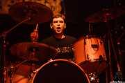 "Oscar ""Puro d'oliva"", baterista de Porco Bravo, Kafe Antzokia, 2008"